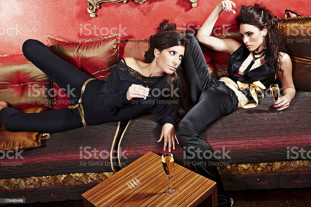 After party royalty-free stock photo