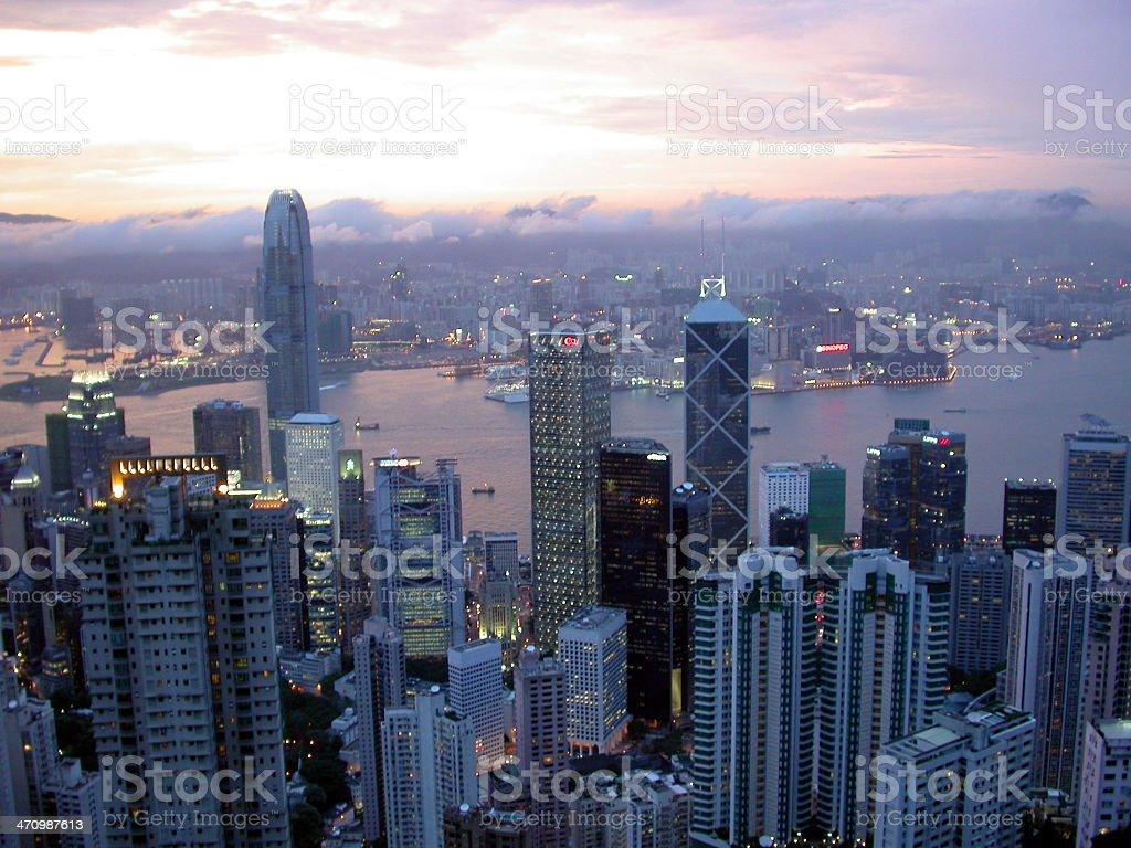 After Rain - Hong Kong 02 royalty-free stock photo