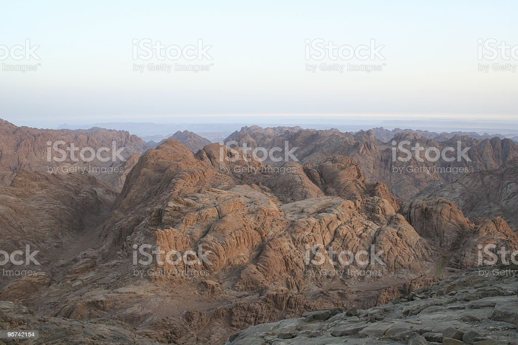 after sunrise royalty-free stock photo