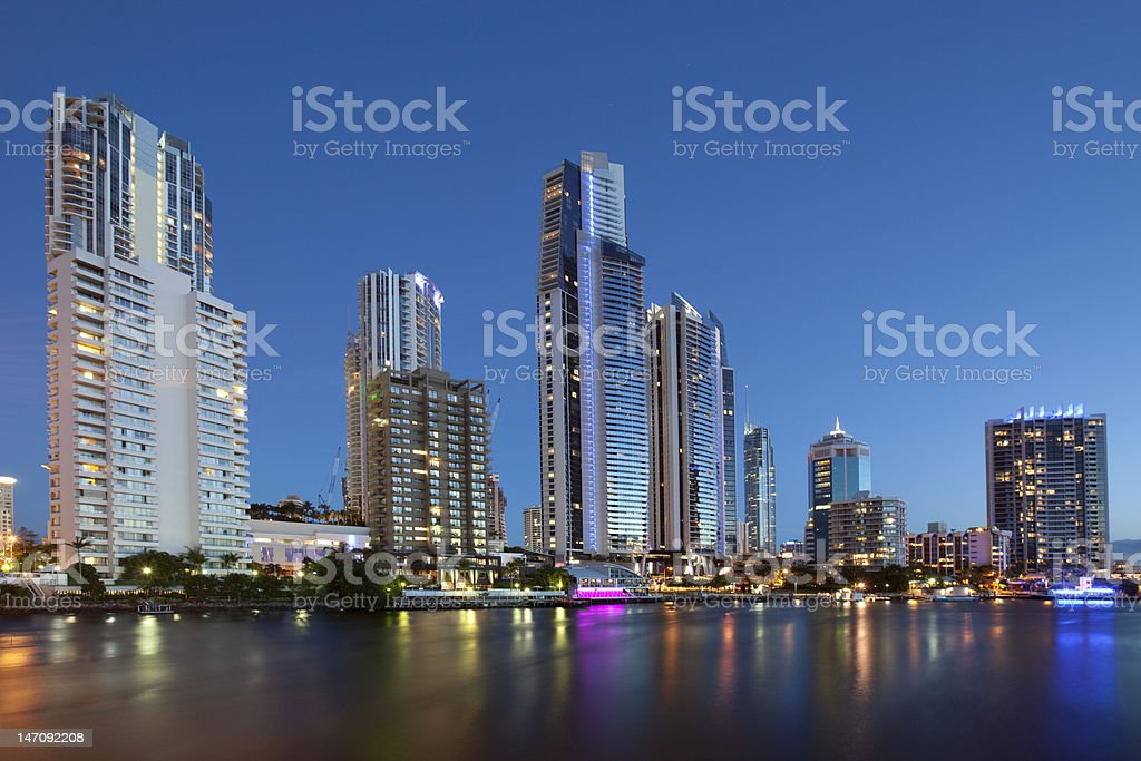 After sunset royalty-free stock photo