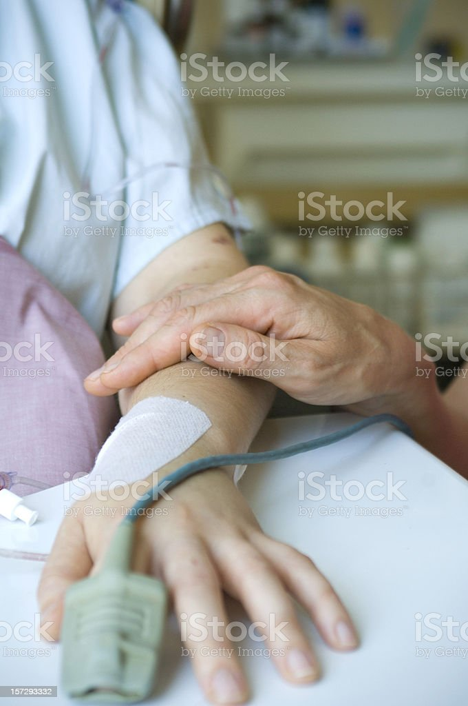 After surgery royalty-free stock photo