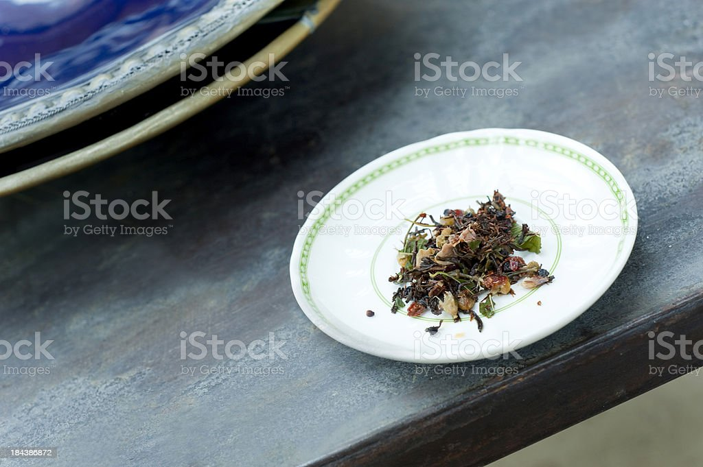 After tea. royalty-free stock photo