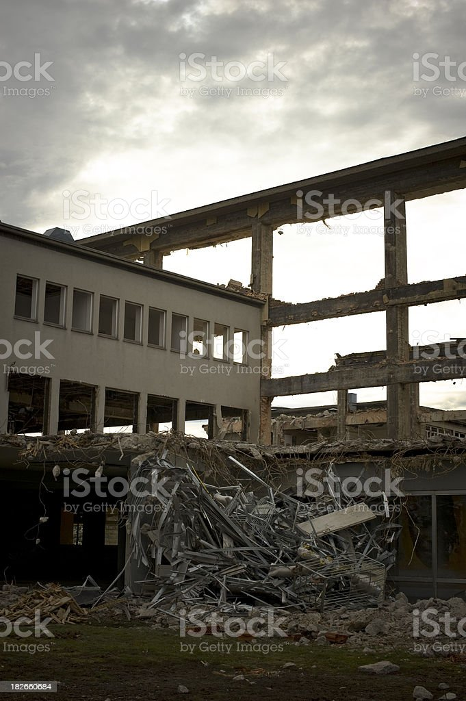 after terror attack royalty-free stock photo