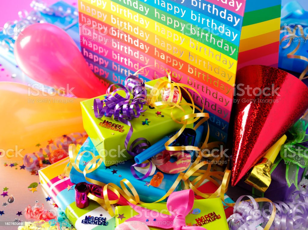 After the Birthday Party royalty-free stock photo