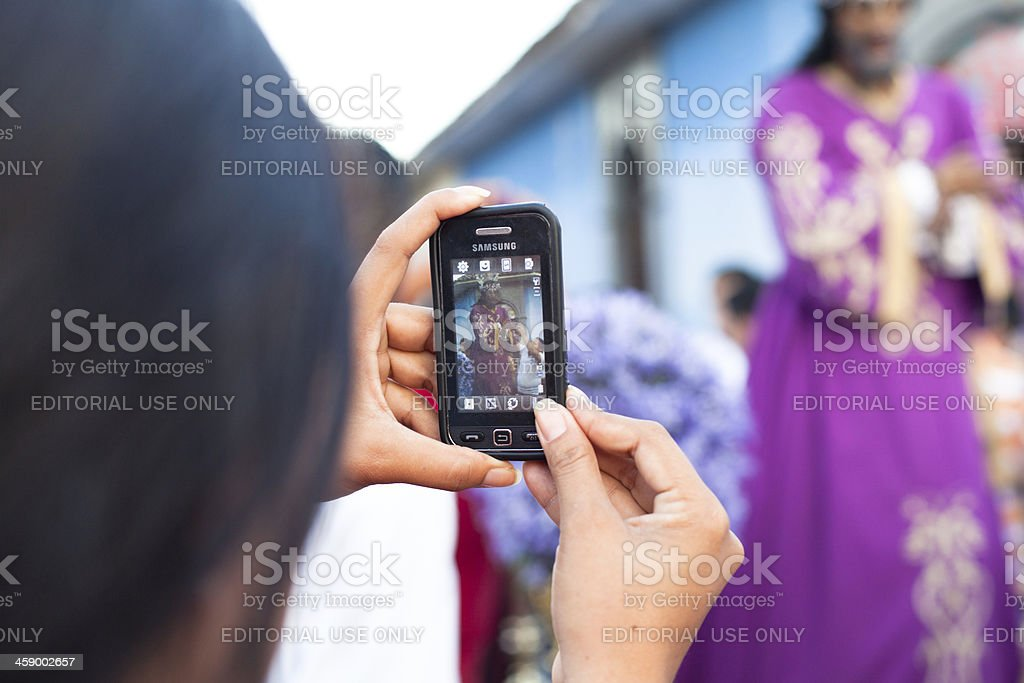 After the death ceremonies royalty-free stock photo