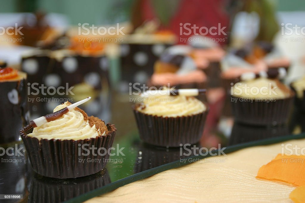 After the main course royalty-free stock photo
