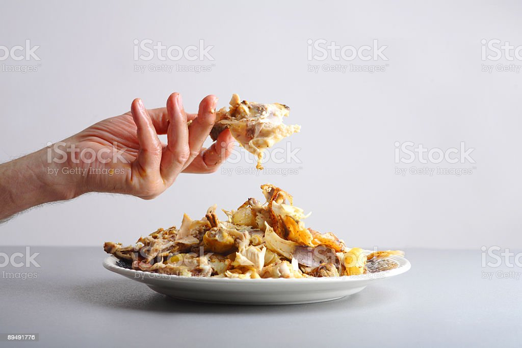 After the meal royalty-free stock photo