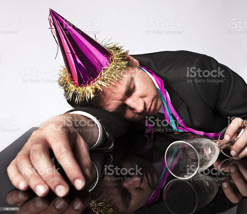 After the party royalty-free stock photo