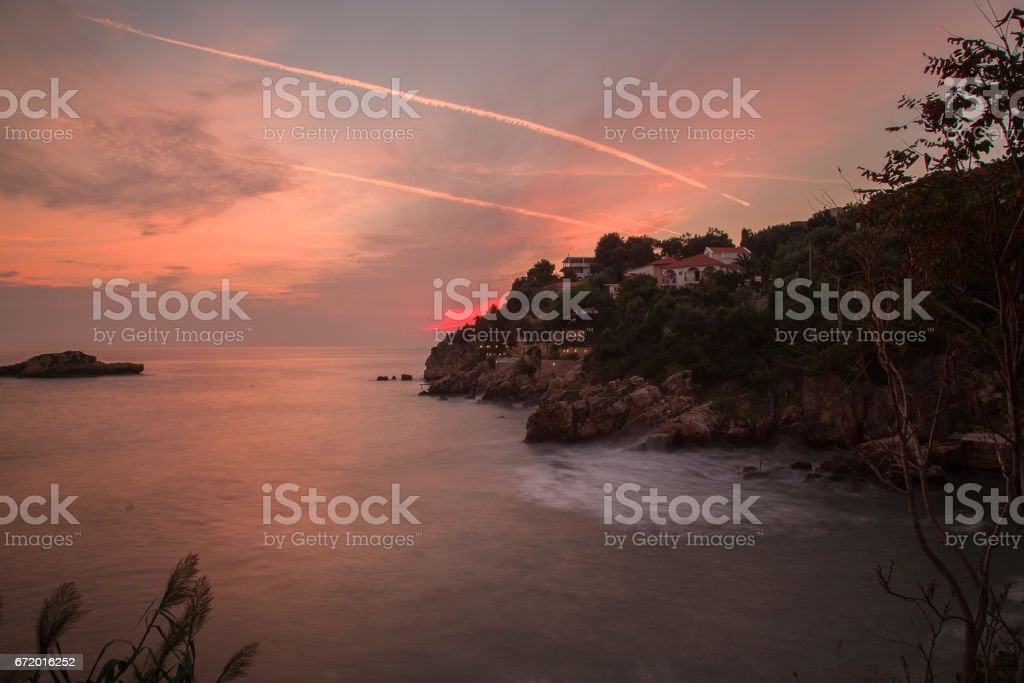 After the storm. stock photo