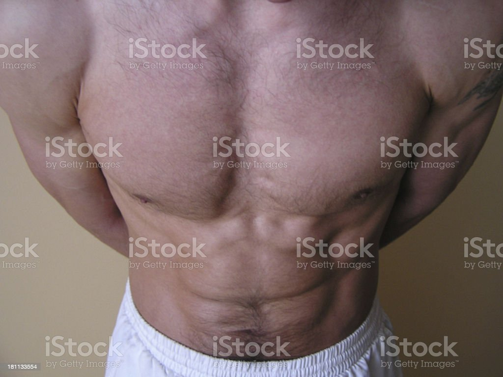 After training royalty-free stock photo