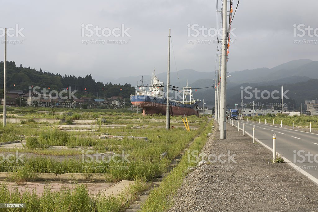 After Tsunami stock photo