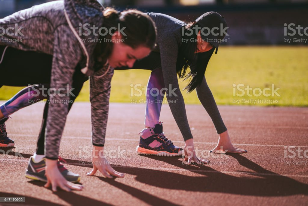 After We Stop Laughing We'll Start Running stock photo