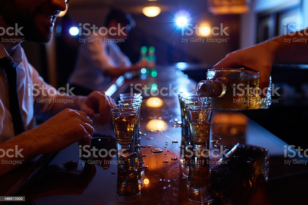 After work party stock photo
