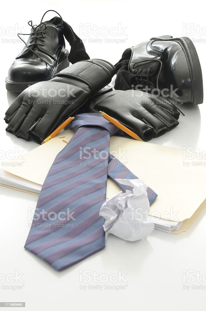 After work stress relief royalty-free stock photo