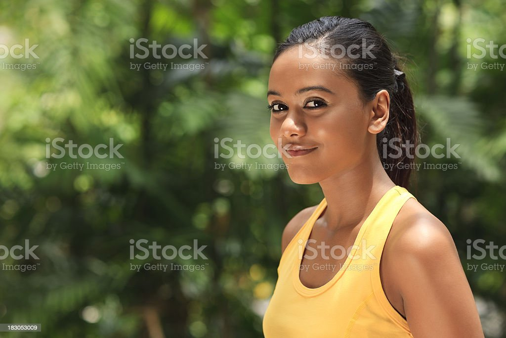 after workout royalty-free stock photo