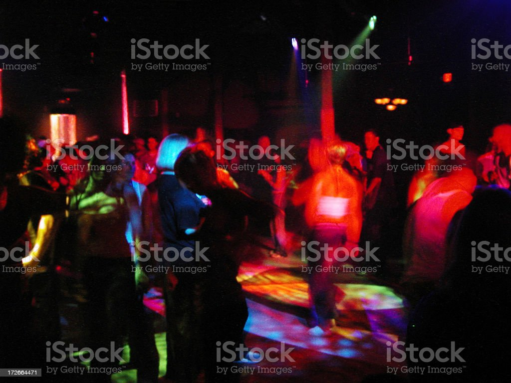 Afterhours Underground royalty-free stock photo