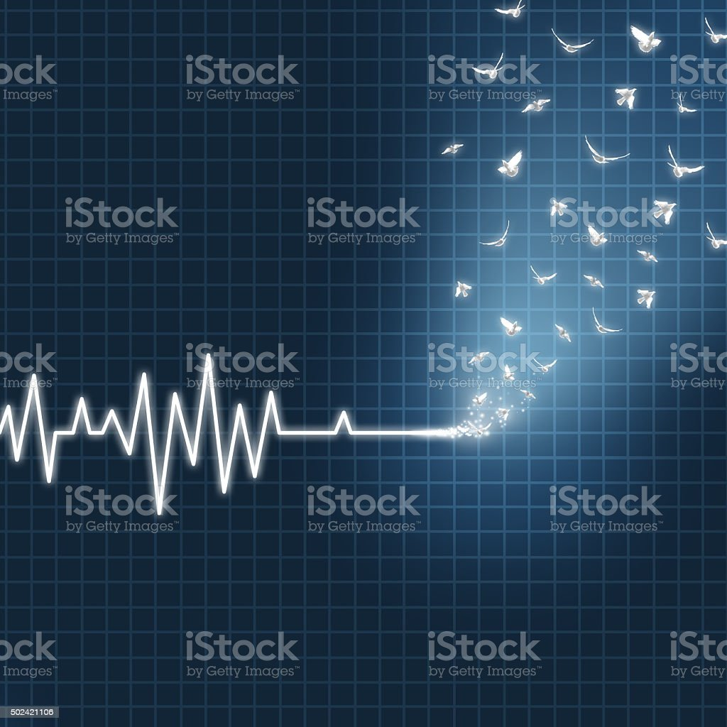 Afterlife Concept stock photo