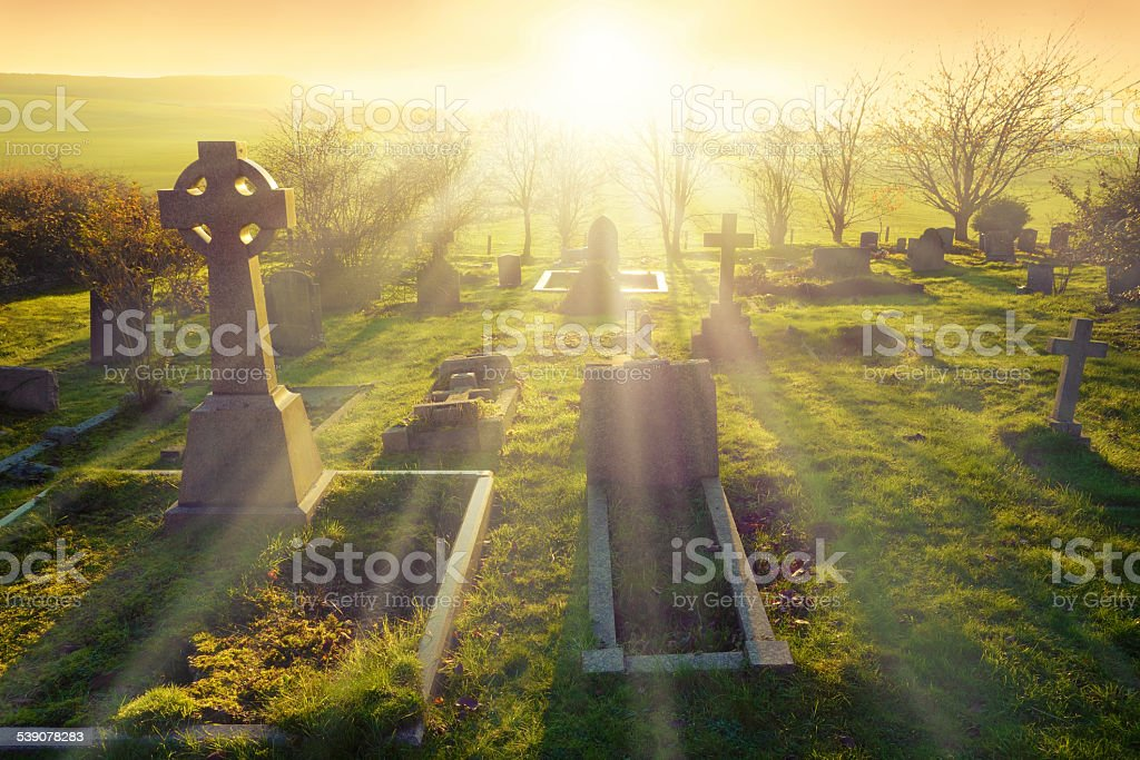 Afterlife stock photo
