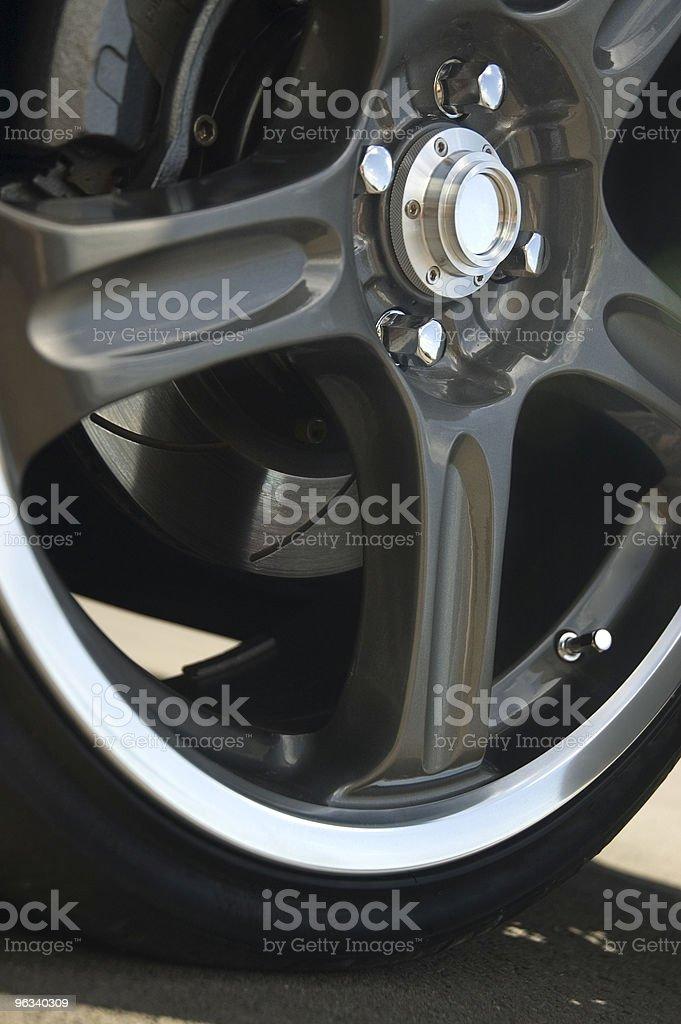 Aftermarket Wheel royalty-free stock photo