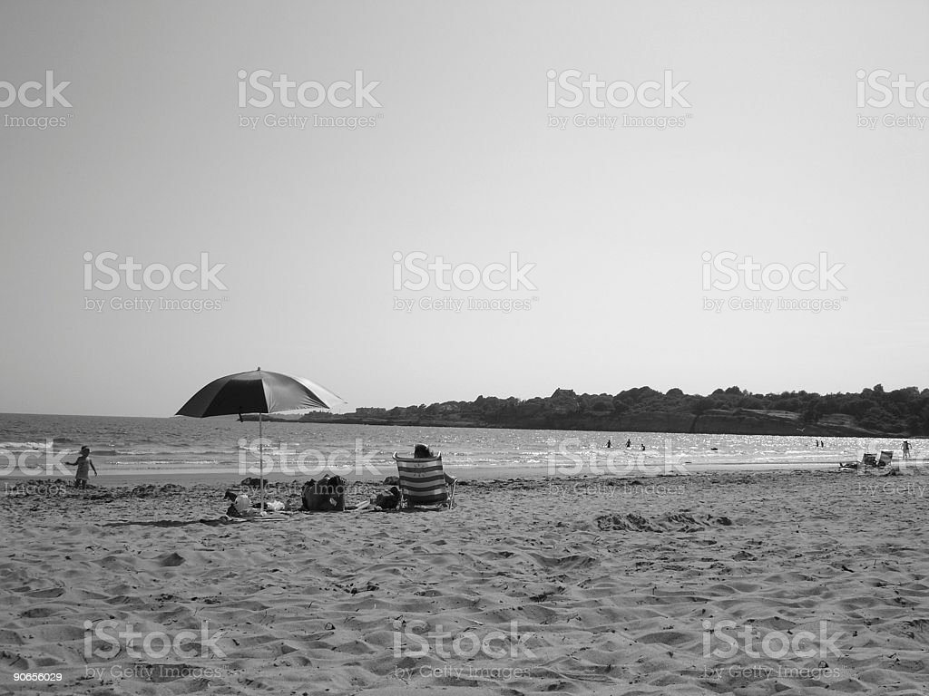 Afternoon at the Beach royalty-free stock photo