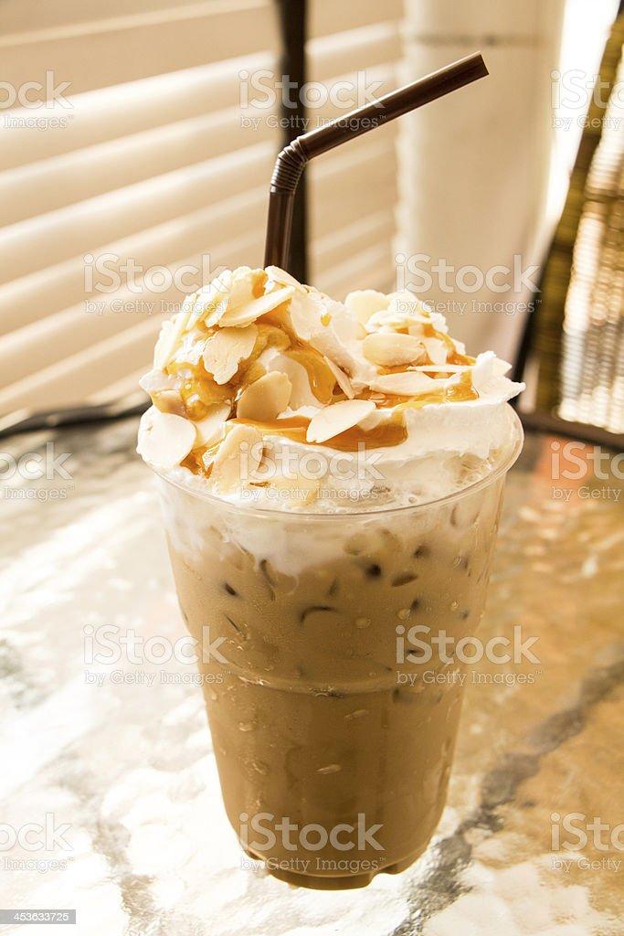 Послеобеденный перерыв на кофе капучино Стоковые фото Стоковая фотография