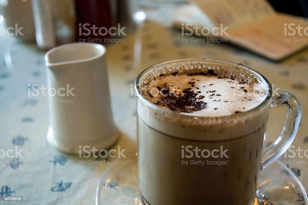 Afternoon Coffee royalty-free stock photo