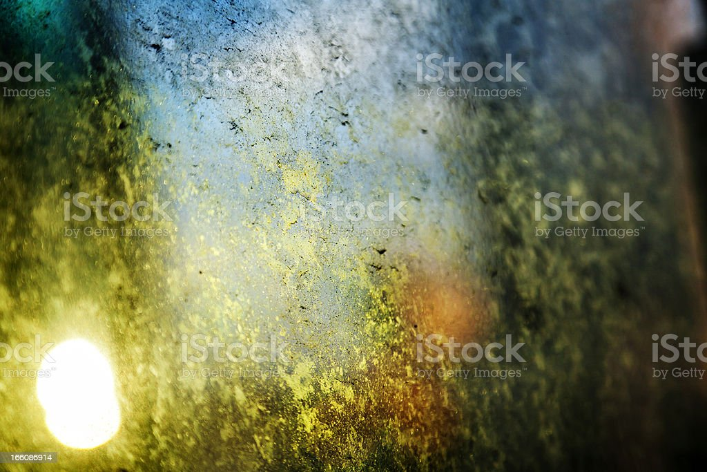 Afternoon Dirty Window royalty-free stock photo