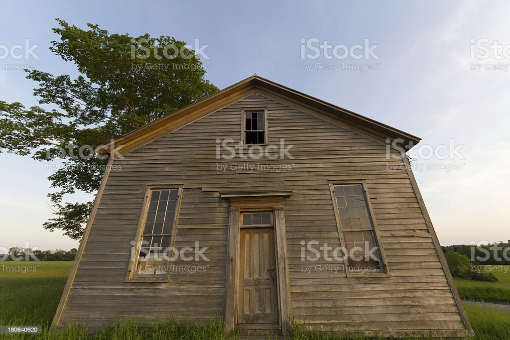 Afternoon Farmhouse royalty-free stock photo