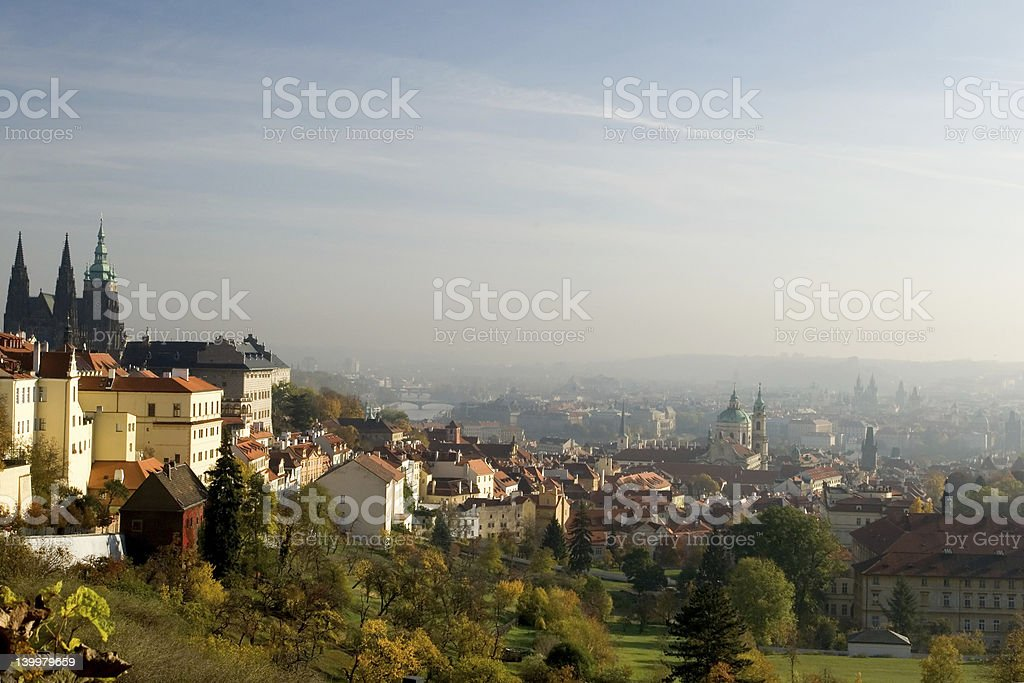 Afternoon in Prague royalty-free stock photo