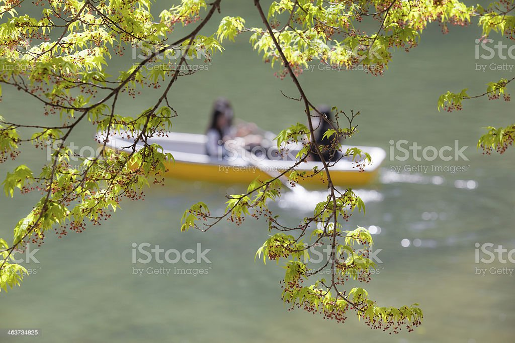 Afternoon Leisure at the Lake royalty-free stock photo