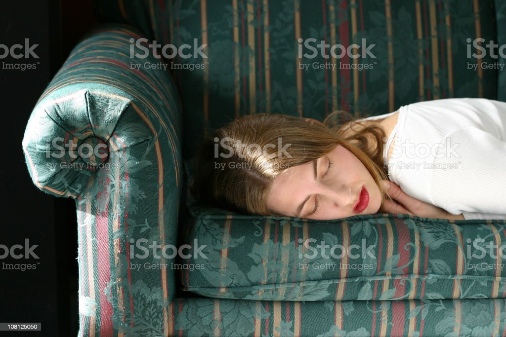Afternoon Nap royalty-free stock photo