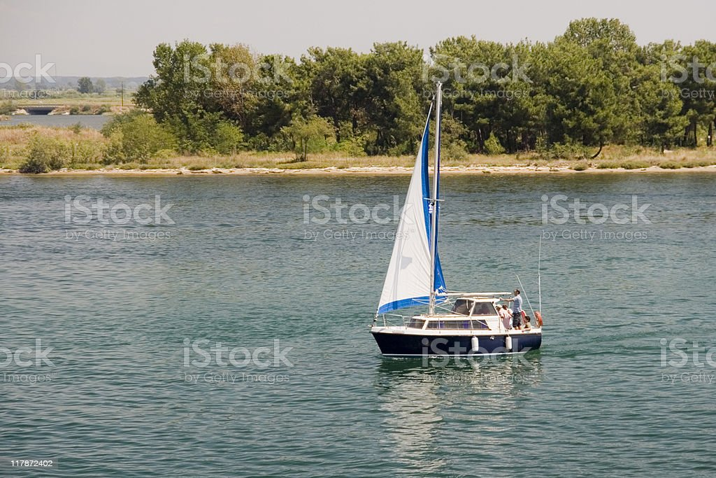 Afternoon Sail stock photo