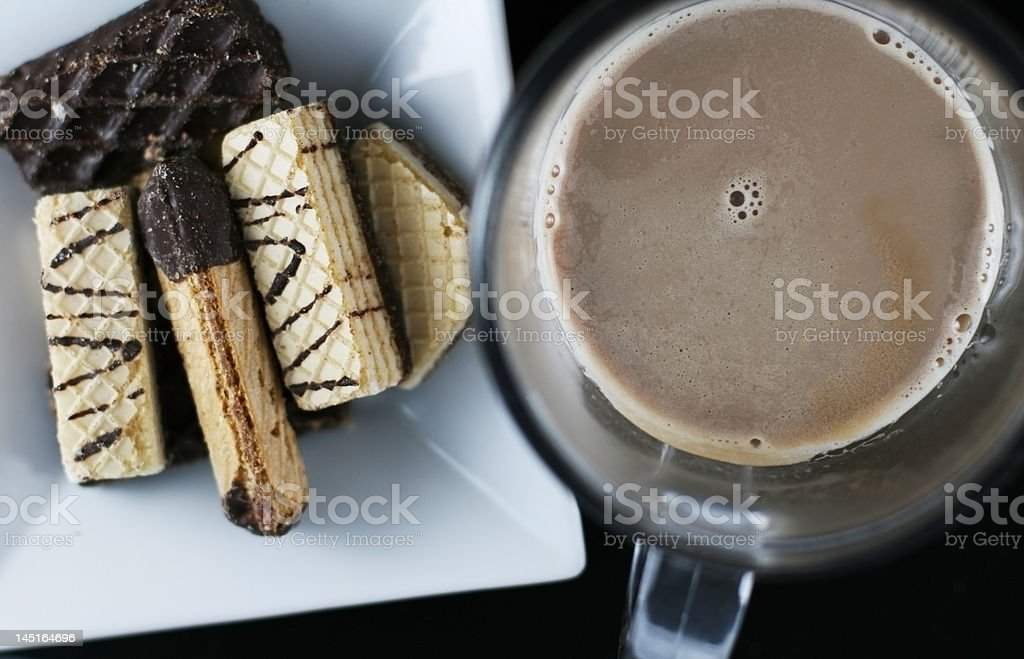 afternoon snack royalty-free stock photo