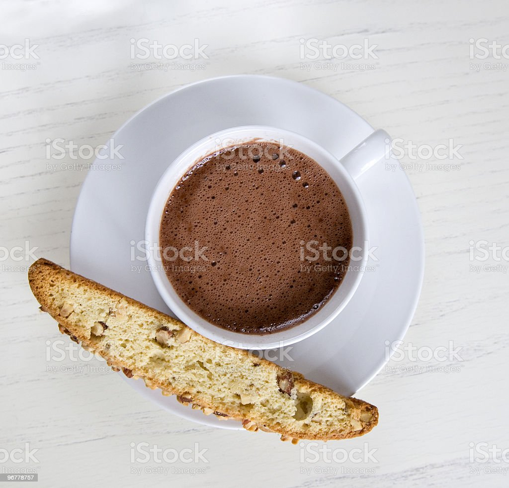 Afternoon snack stock photo