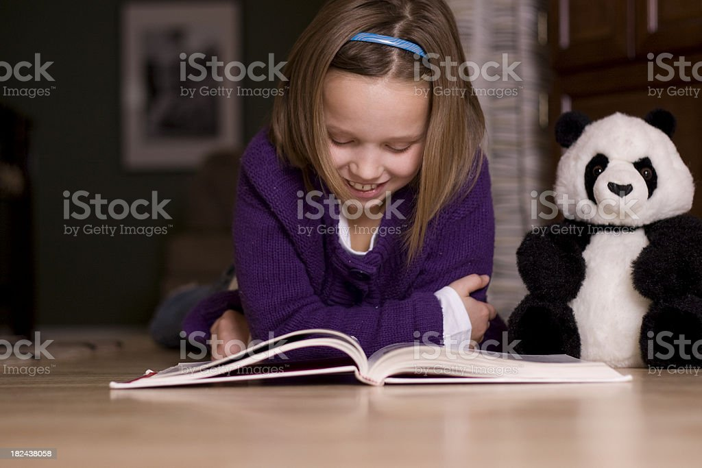 Afternoon Story Time stock photo