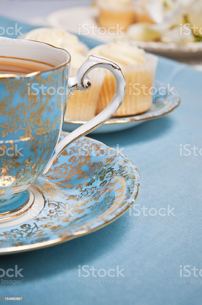 Afternoon tea party. stock photo
