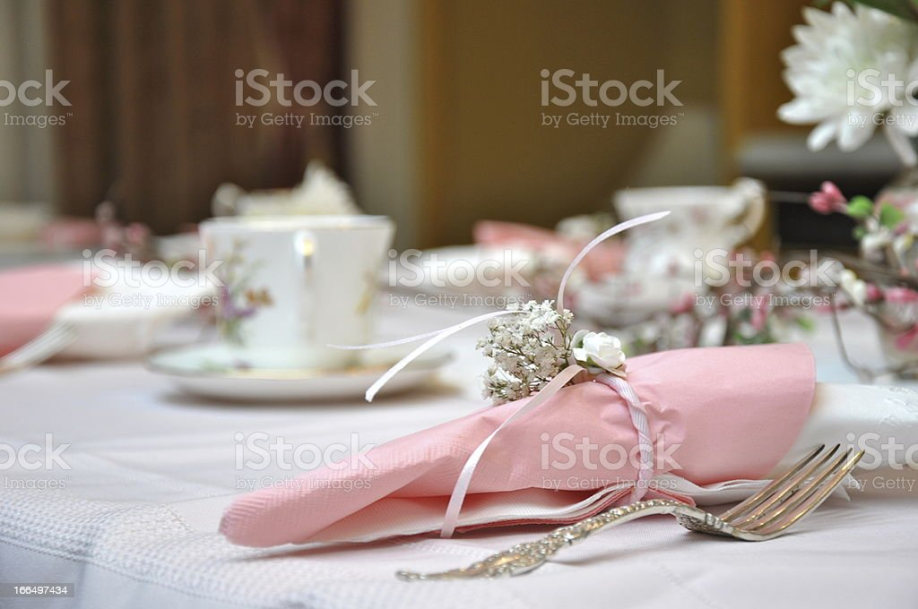 Afternoon Tea Party stock photo