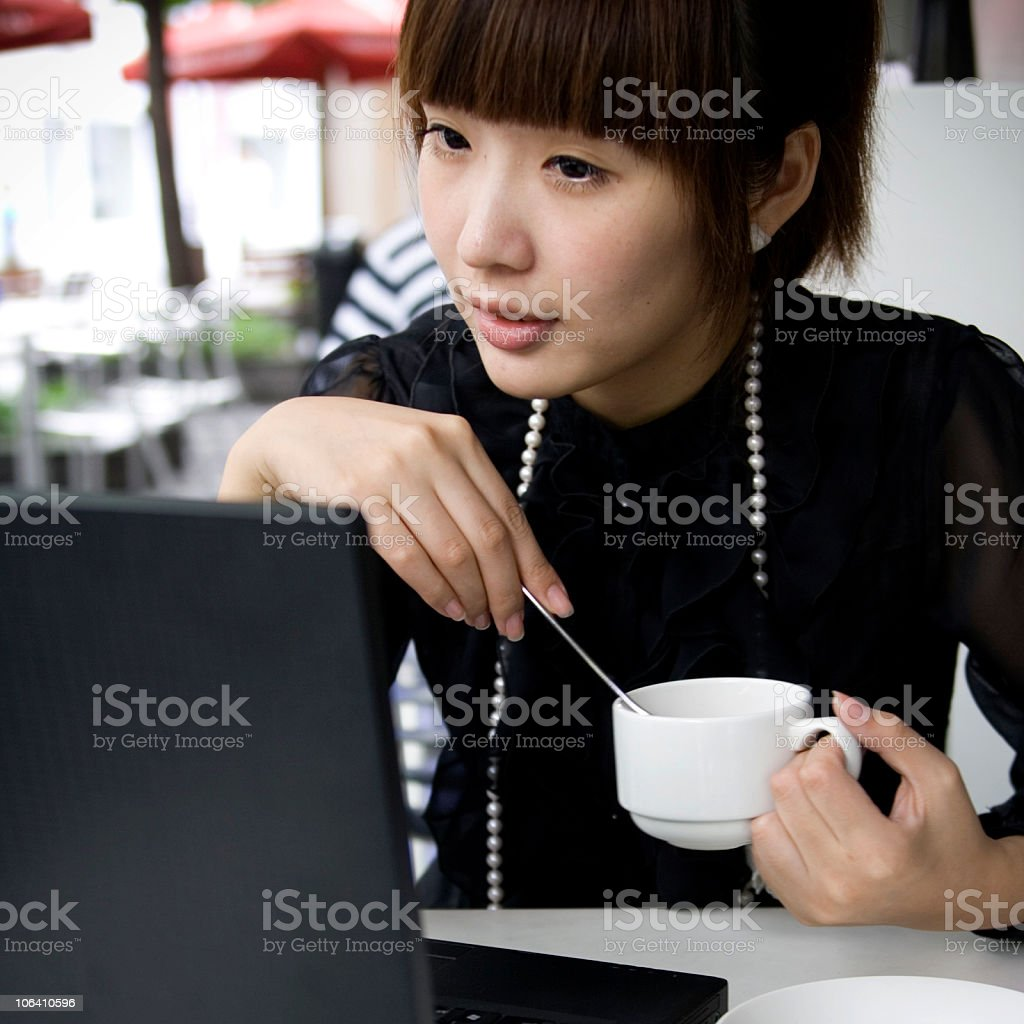Afternoon tea time royalty-free stock photo