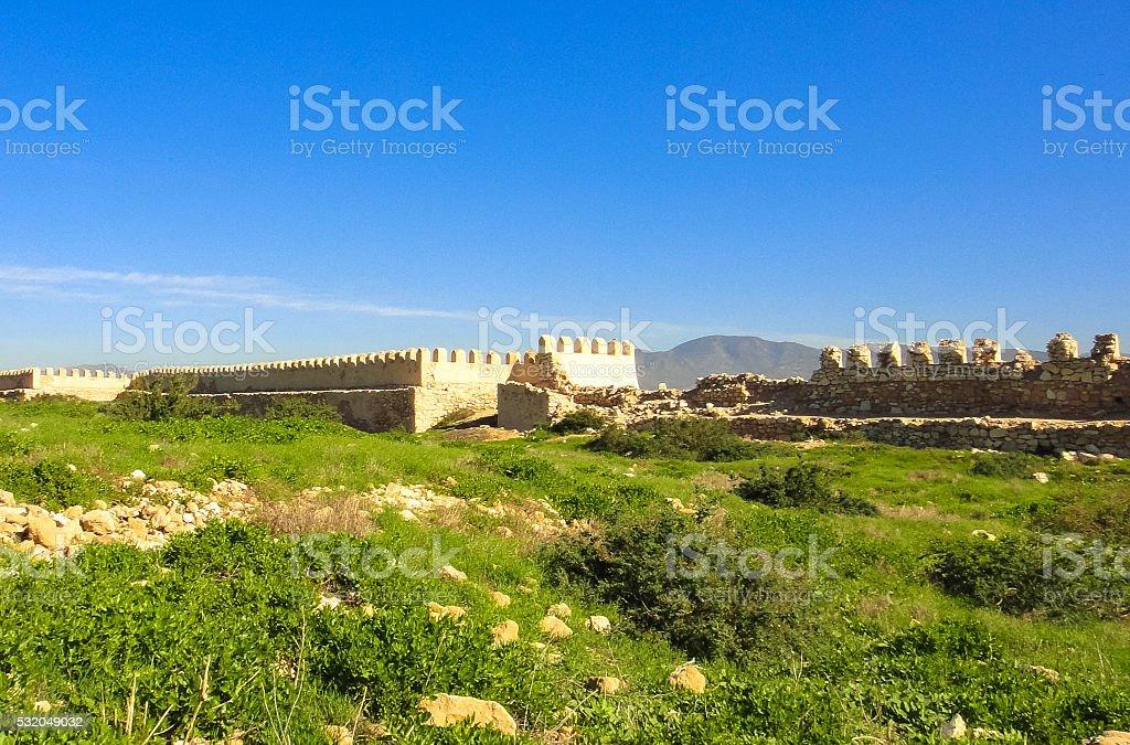Agadir fortress in Morocco stock photo