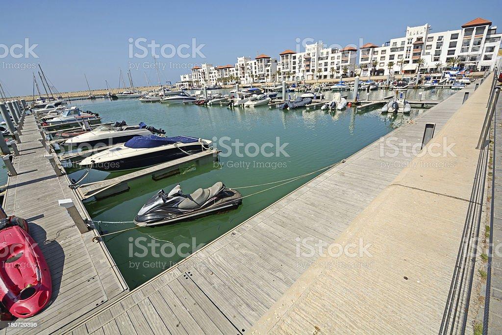 Agadir marina royalty-free stock photo