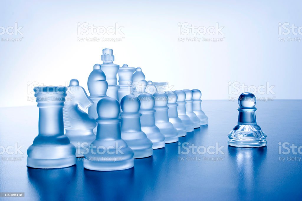 Against all royalty-free stock photo