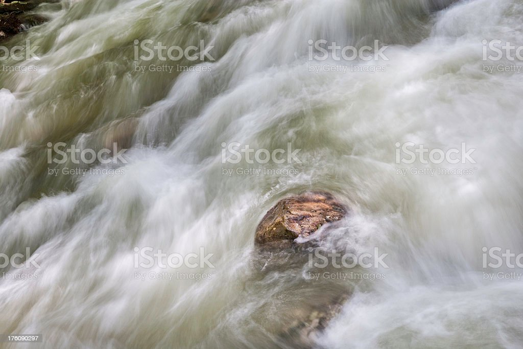 Against the Flow (XXL) royalty-free stock photo