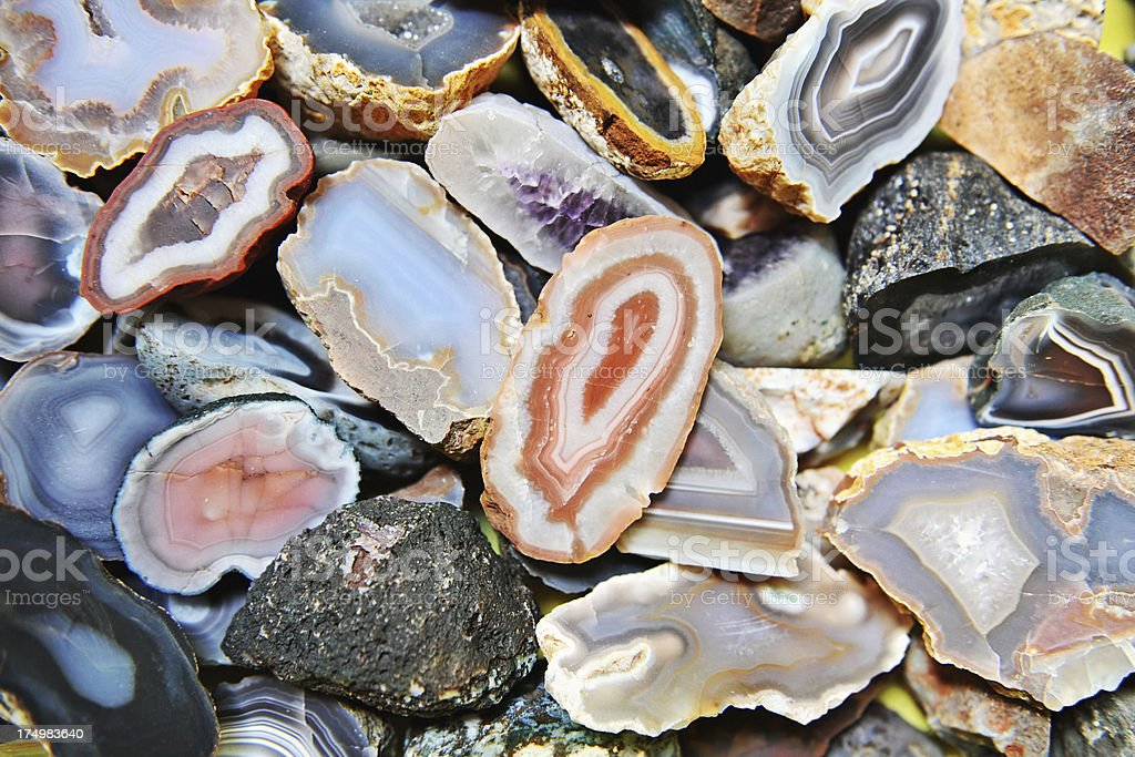 Agate Cutlets stock photo