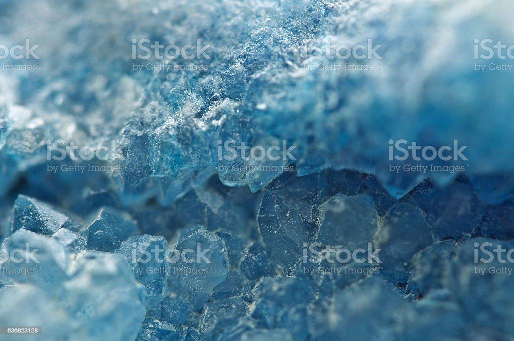 Agate is a cryptocrystalline variety of crystal quartz. Macro stock photo