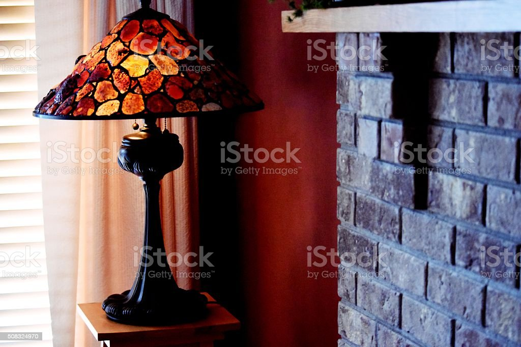 agate lamp royalty-free stock photo