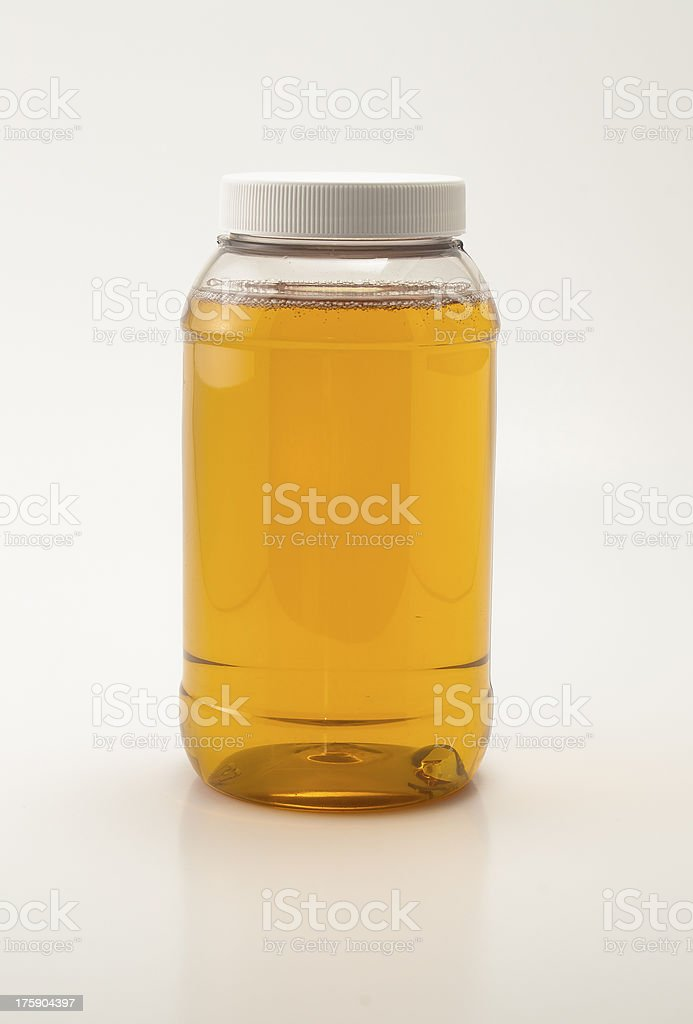 Agave Syrup Jar stock photo