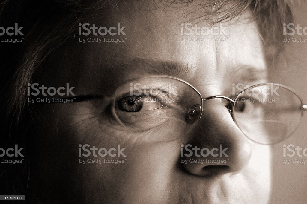 Age Concern royalty-free stock photo
