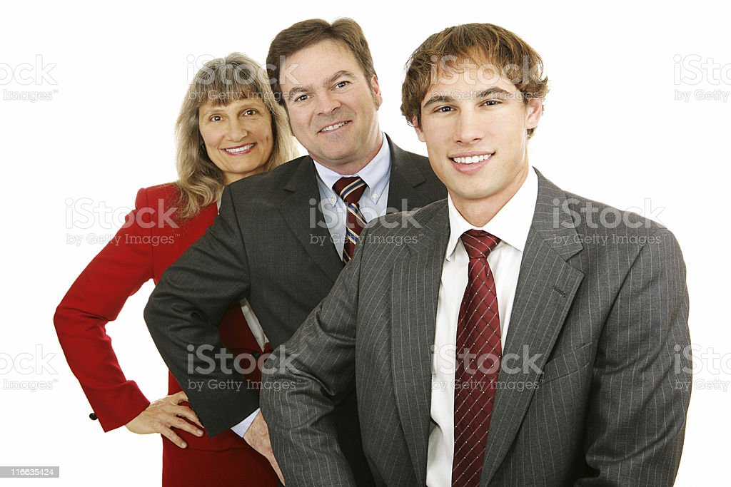 Age Diversity in Business royalty-free stock photo