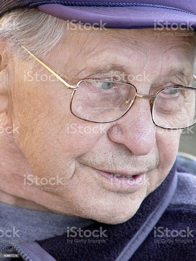 Age is beautiful royalty-free stock photo
