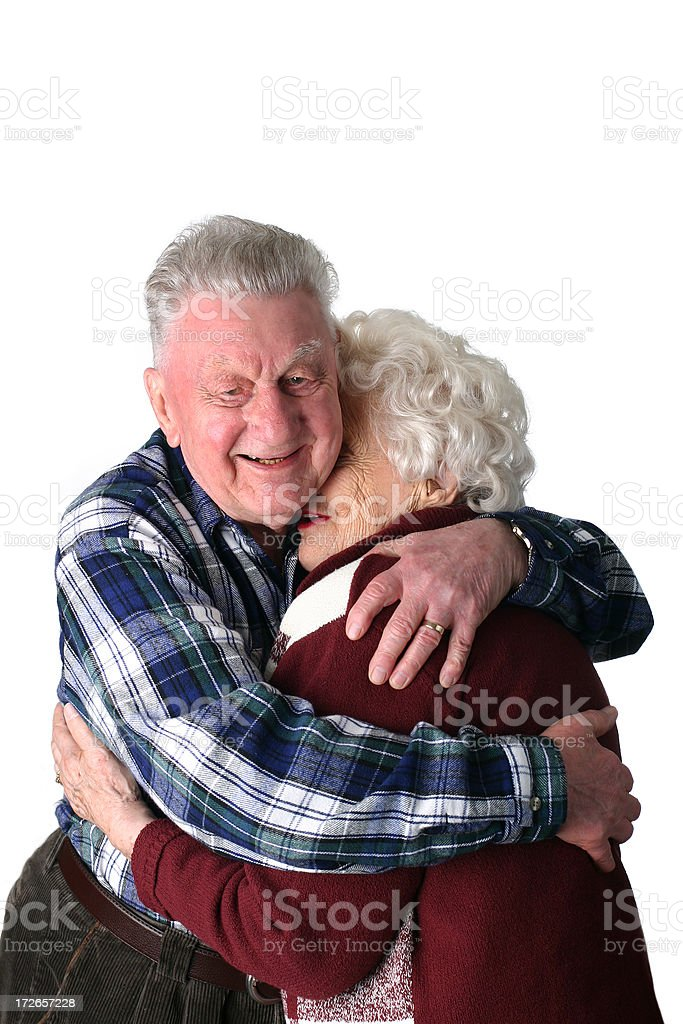 Age - Loving Couple royalty-free stock photo